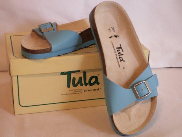 Birkenstock Tula Leather Sandals / Slides Sz 5.5 / EUR 36.5