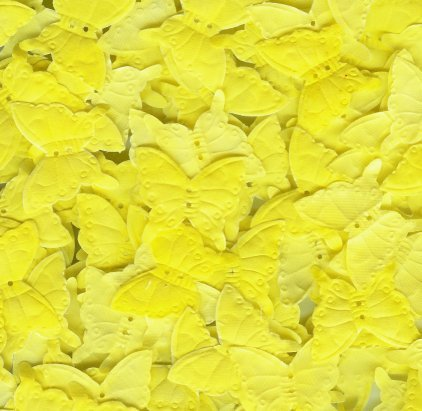 Yellow Silk Butterfly Petals ~ Wedding ~ Shower ~ Party ~ Favors