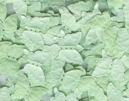Mint Green Silk Butterfly Petals ~ Wedding ~ Favor ~ Shower ~ Party