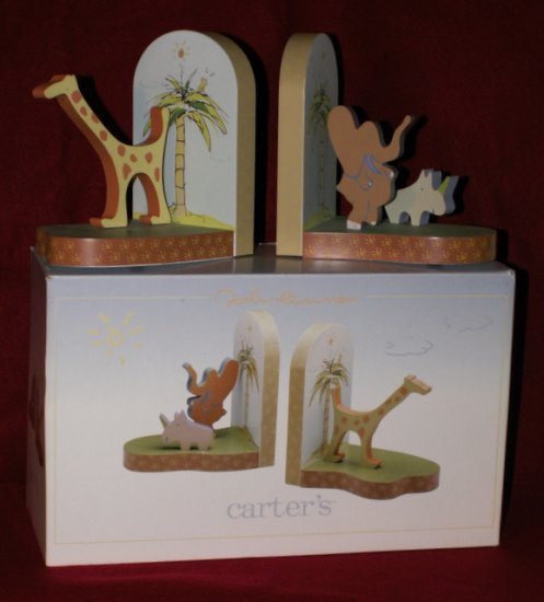 Carters John Lennon Bookends with Box Book Ends Baby Nursery Decor