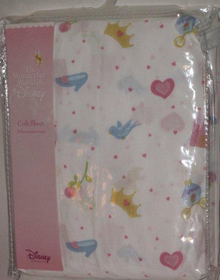 Disney nursery bedding : Disney cinderella princess crib bedding