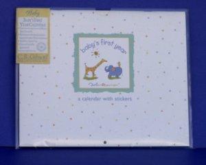 JOHN LENNON BABY'S FIRST YEAR CALENDAR by C R Gibson Keepsake Memory