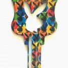 Playboy House Key Blank Kwikset Multi Color