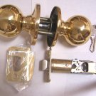 Cal Royal Entry Door Lock Kwikset Keyway Brass
