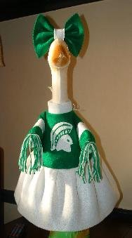 Cheerleader Custom Made For Your Team Lawn Goose Clothes Outfit
