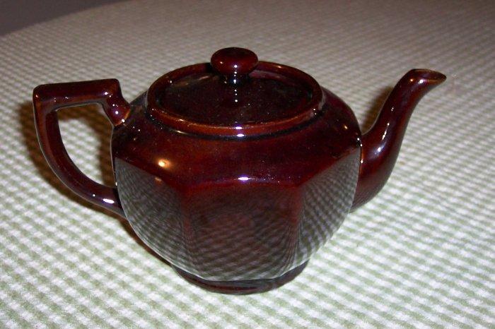 Brown Japanese Teapot