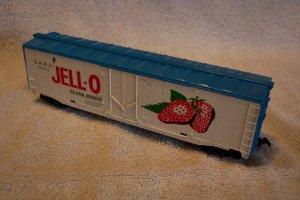 Tyco Jell-O HO Scale Boxcar 50823