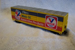Valvoline AOC 971 BoxCar  HO Scale