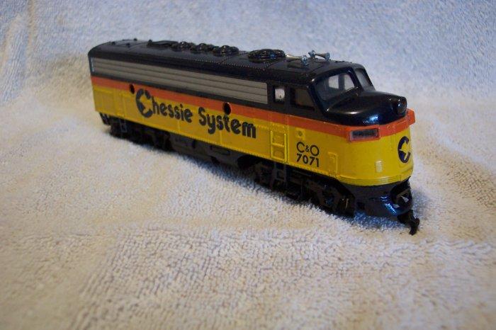 Bachman C&O Engine 7071