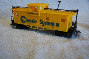 Bachman C&O 3465 Chessie System Caboose