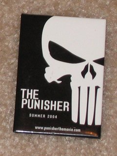 Punisher Movie Button / Pin