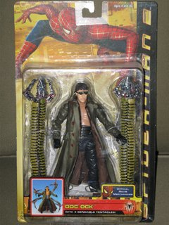 Spider-man 2 Movie Doc Ock Action Figure with Bendable Tentacles