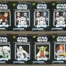 Star Wars Gentle Giant Clone Wars Animated Bust-ups Set of 8