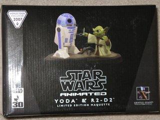 Star Wars Gentle Giant Yoda & R2-D2 Maquette