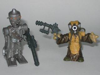 Galactic Heroes IG-88 and Zuckuss Star Wars