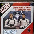 Star Wars Gentle Giant Han & Luke Stormtrooper Bust-up 2-pack