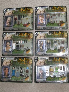 Buffy Series 2 PALz Complete Set of 6 Figures Buffy the Vampire Slayer