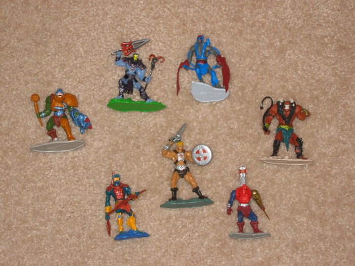 Masters of the Universe / He-Man 2002 Mini Figures