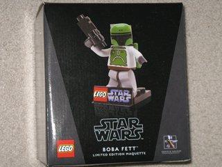 Star Wars Gentle Giant Lego Boba Fett Maquette