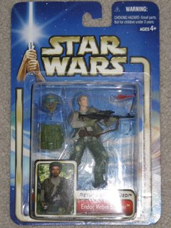 Star Wars Endor Rebel Soldier