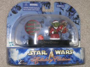 Star Wars Holiday Yoda Exclusive