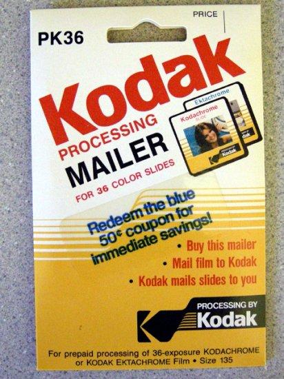 Kodak Pre-Paid Slide Processing Mailer PK36 Size 135
