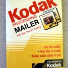 Kodak Pre-Paid Slide Processing Mailer PK20 Sizes 110, 126, 135