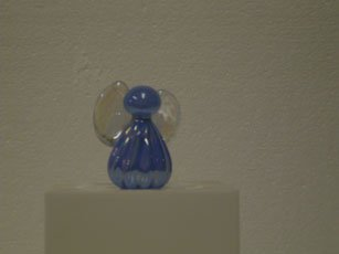 Blue Glass Angel