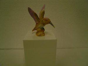 Ceramic Brown Hummingbird