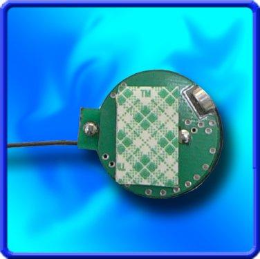 EXTENDED TIME UHF 3-6V Crystal Controlled Bug Spy Transmitter
