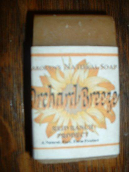Carolyn's Natural Goat Milk Soap - Orchard Breeze 6 oz. bar