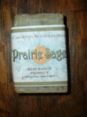 Handmade natural Goat Milk Soap - Prairie Sage 6 oz. bar