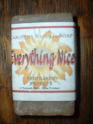 Handmade Natural Goat Milk Soap - Everything Nice 6 oz. bar