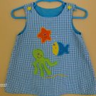Ashley and Austin A-Line Boutique Dress Sea Life 12mos