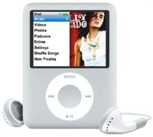 Apple 8GB iPod nano Silver