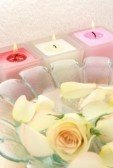 Trio Floral Scented Candles Gift pack