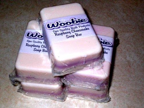 Raspberry Cheesecake Soap Bar