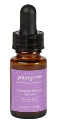 Young Living Essential Beauty Serum Dry .5oz Free Shipping
