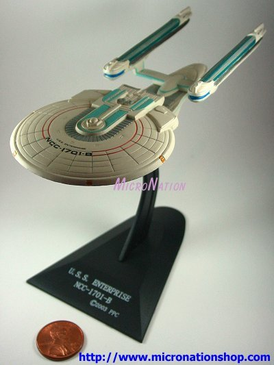 Furuta Star Trek Vol. 2 Mini USS Enterprise NCC-1701-B