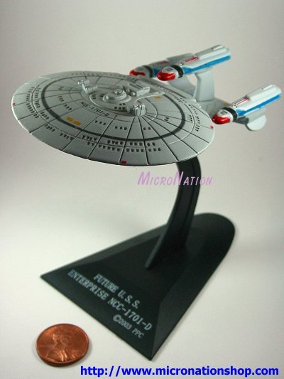 Furuta Star Trek Vol. 2 Mini USS Enterprise NCC-1701D F