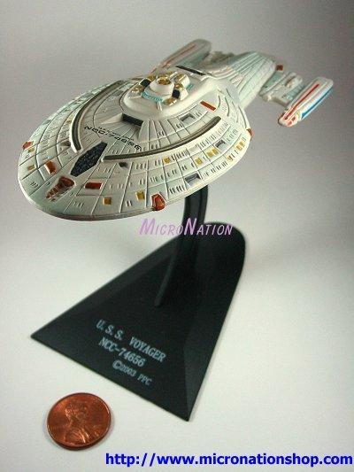 Furuta Star Trek Vol. 2 Miniature USS Voyager NCC-74656