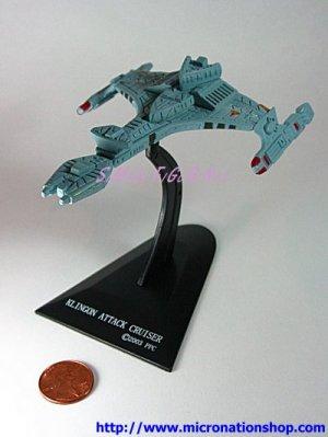 Furuta Star Trek Vol. 1 Mini Klingon Attack Cruiser