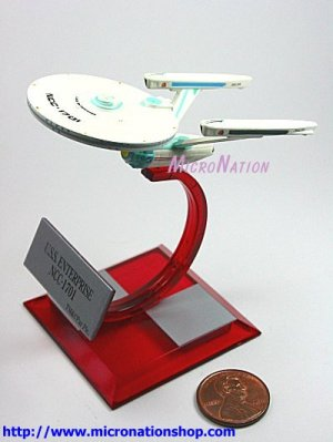 Furuta Star Trek Vol. 3 B1 U.S.S. Enterprise NCC-1701
