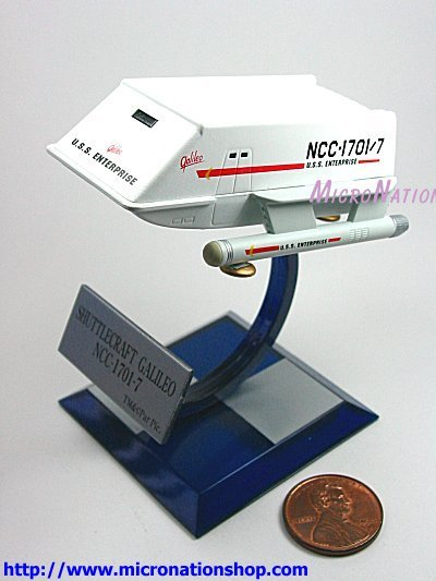Furuta Star Trek Vol. 3 A2 Miniature Galileo NCC-1701-7