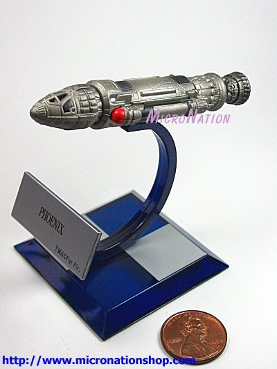 Furuta Star Trek Vol. 3 A4 Miniature Model Phoenix