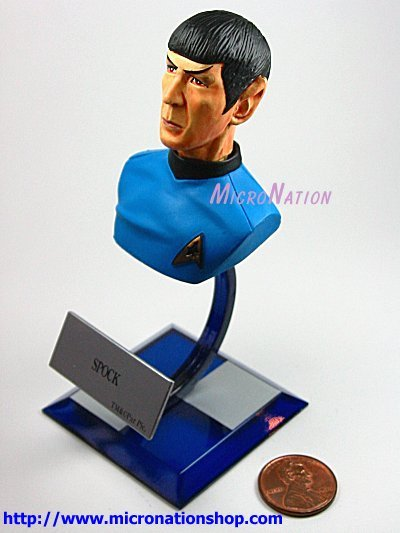 Furuta Star Trek Vol. 3 A5 Miniature Bust model Spock