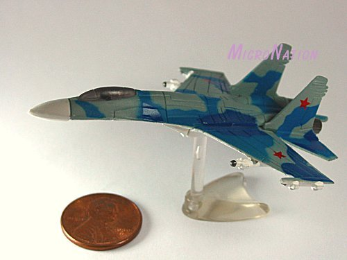 Furuta War Planes Miniature Model #21 Su-27 Flanker