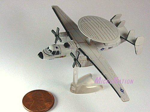 Furuta War Planes Miniature Model #32 Grumman E-2 Hawkeye