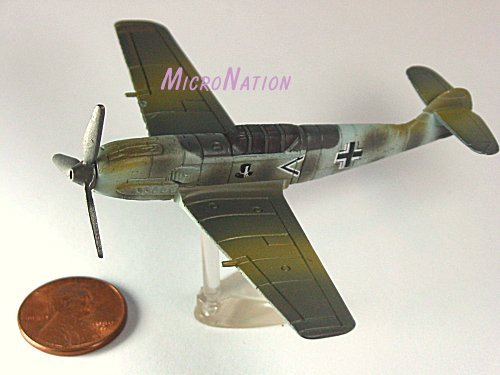 Furuta War Planes Miniature Model #35 Messerschmitt BF109E