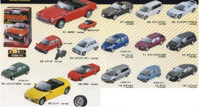 Furuta Choco Egg Series Honda Miniature Car Model Vol. 1 Set of 20